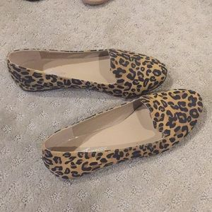 Animal Print Flats Loafers sz 6 by Forever